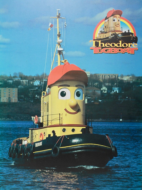 Theodore Tugboat Poster
