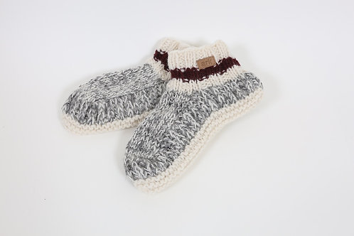 Knit Cabin Booties