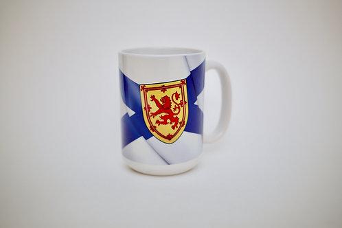 Nova Scotia Flag and Story Mug