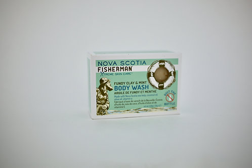 Fundy Clay and Mint Body Wash Bar