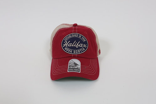 Vintage Red Patch Hat