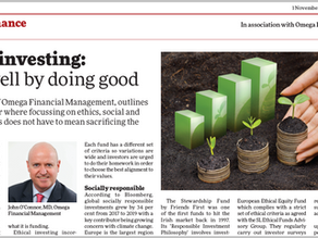 Ethical Investing: Doing Well By Doing Good