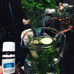O love to infuse water