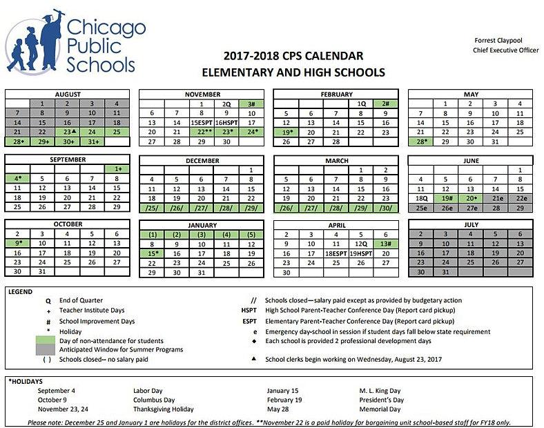 Benito Juarez Community Academy  Cps School Calendar