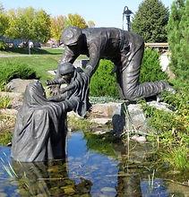 Haileybury Waterfront Statue.jpg