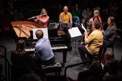 Wind Quintet plus piano, children's concert