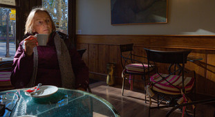 Janet, coffee in Burgos