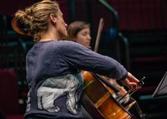 Rehearsal, Gemma and Ruth