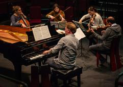 Rehearsal, Elgar Piano Quintet