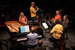 Wind Quintet plus piano, chldren's concert 2