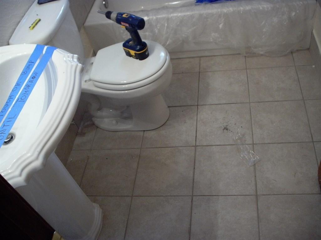 Vanity, tile and toilet 2.JPG