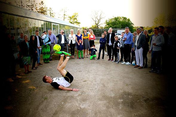 Freestyle fodbold show - Konfirmationsunderholdning