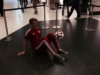Freestyle Fodbold Show i Glostrup Storcenter