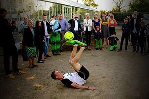 freestyle fodbold Konfirmationsunderholdning