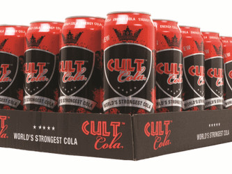 Vind en kasse CULT Cola med FodboldTricks!