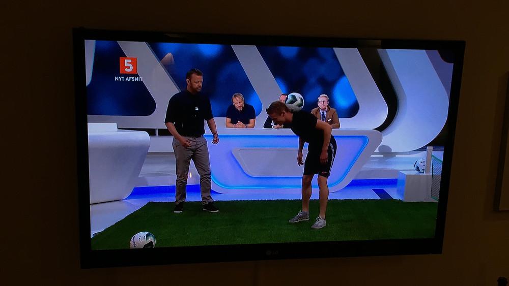 Lasse Fodboldtricks Kanal 5