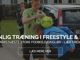 Bliv Danmarks næste store boldjonglør med personlig træning fra FodboldTricks!