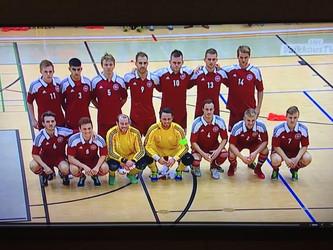 Brizze debut på Futsal Landsholdet!