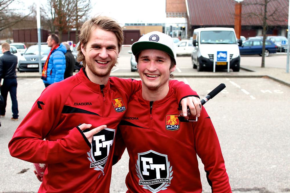 Brizze & Patte i Farum, Freestyle fodbold panna