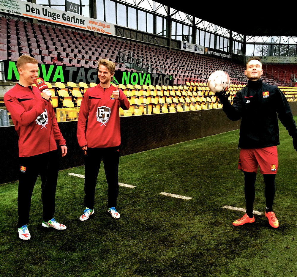 Johannes Ritter med sejt Fodboldtrick
