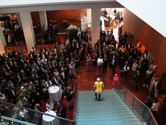 Freestyle show for Kidsaid Danmark på Hotel Hilton i København