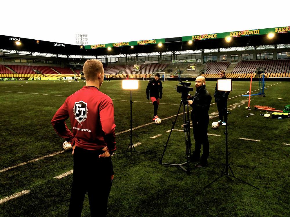 Lasse Kalkar vært på FCNTV