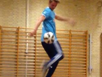 Freestyle Show til fodboldarrangement i Høng