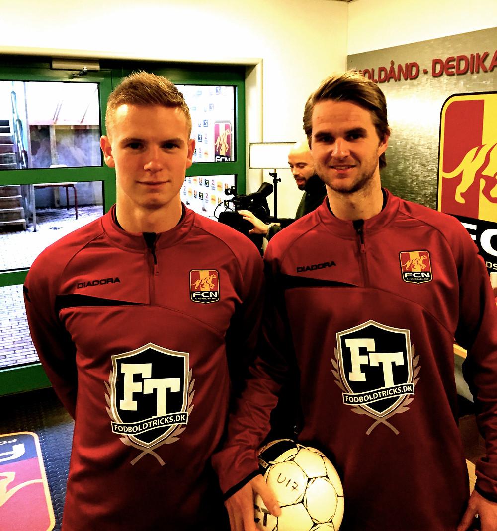 Brizze & Lasse på Farum Park med FodboldTricks