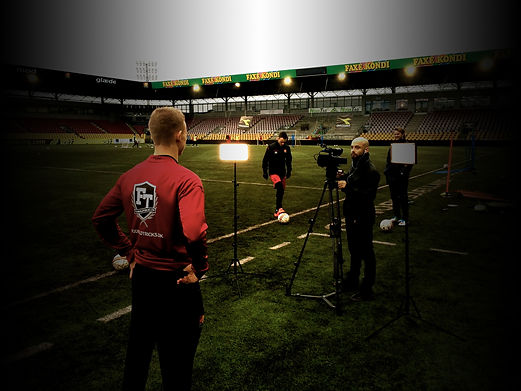 Fodboldtricks - Tv reklamer - booking