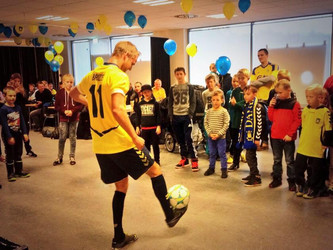 Underholdning For Brøndby I.F Junior Event!