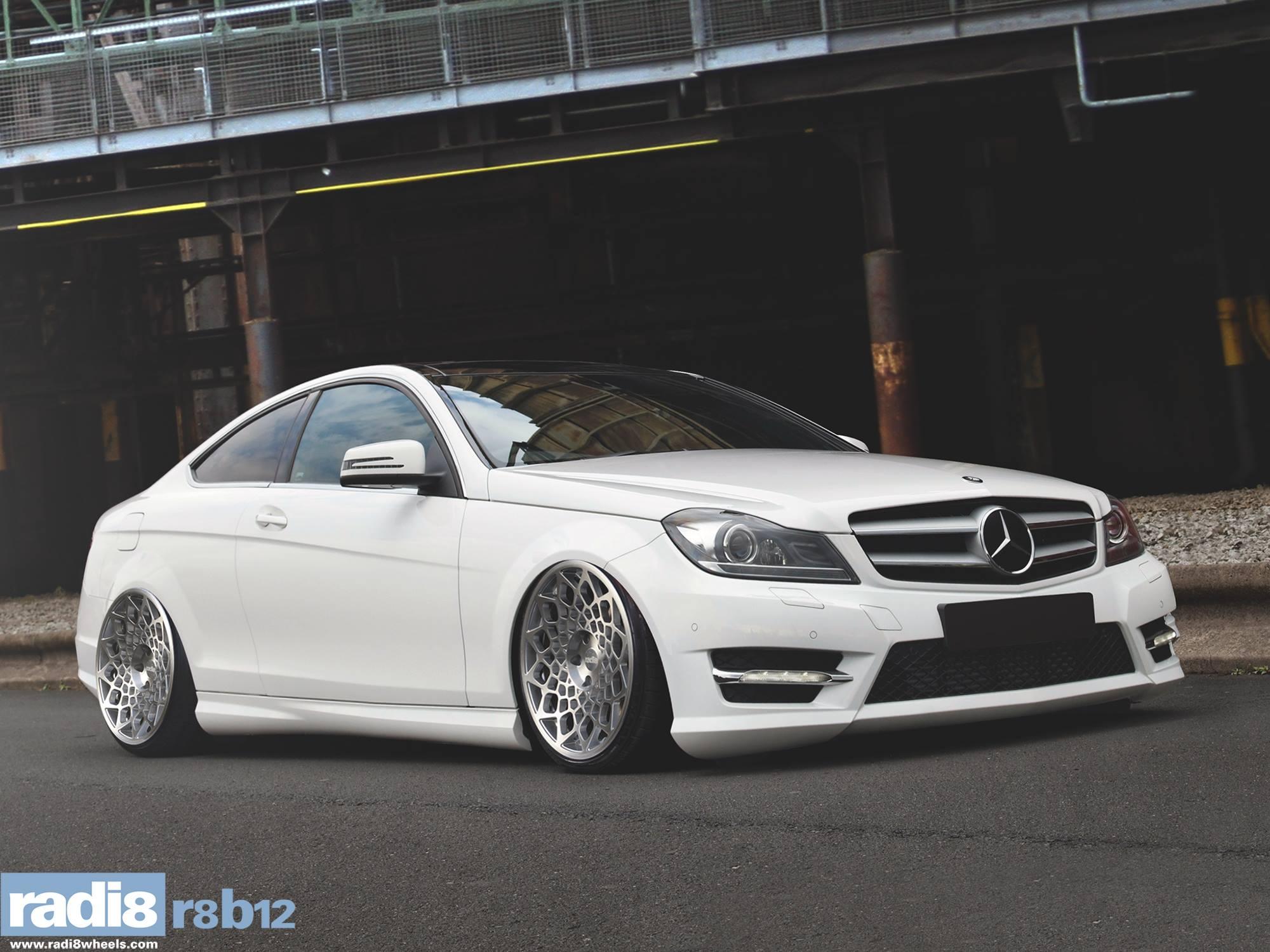 Radi8 R8B12 + Mercedes C220 cdi