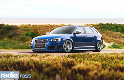 Radi8 R8S5 Wheels + Audi S3