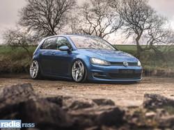 Radi8 R8S5 Wheels + Volkswagen Golf MK7