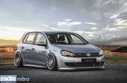 Radi8 R8B12 Wheels - Volkswagen Golf Bluemotion