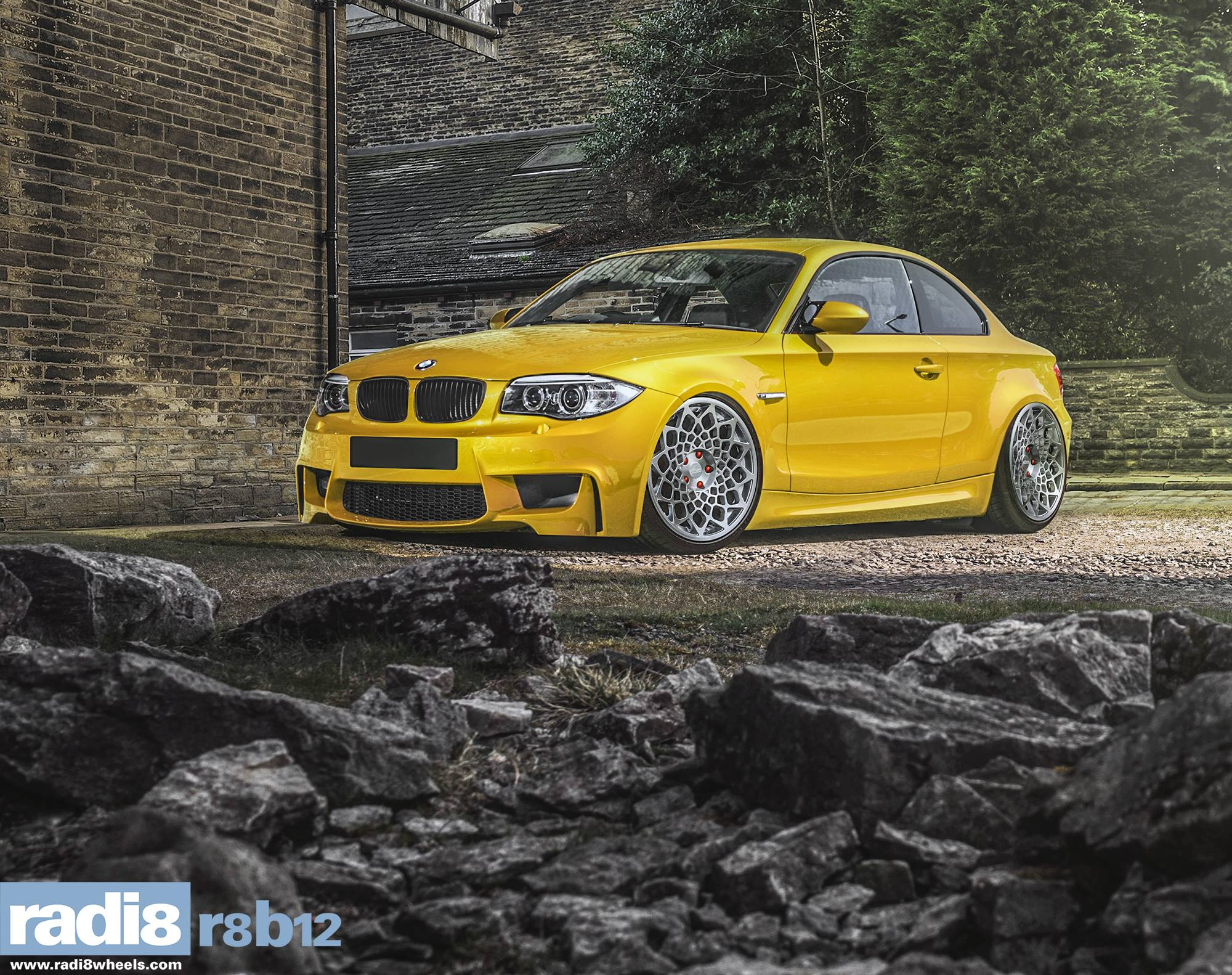 Radi8 R8B12 Wheels - BMW 1M