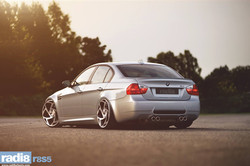 Radi8 R8S5 wheels + BMW M3 E90