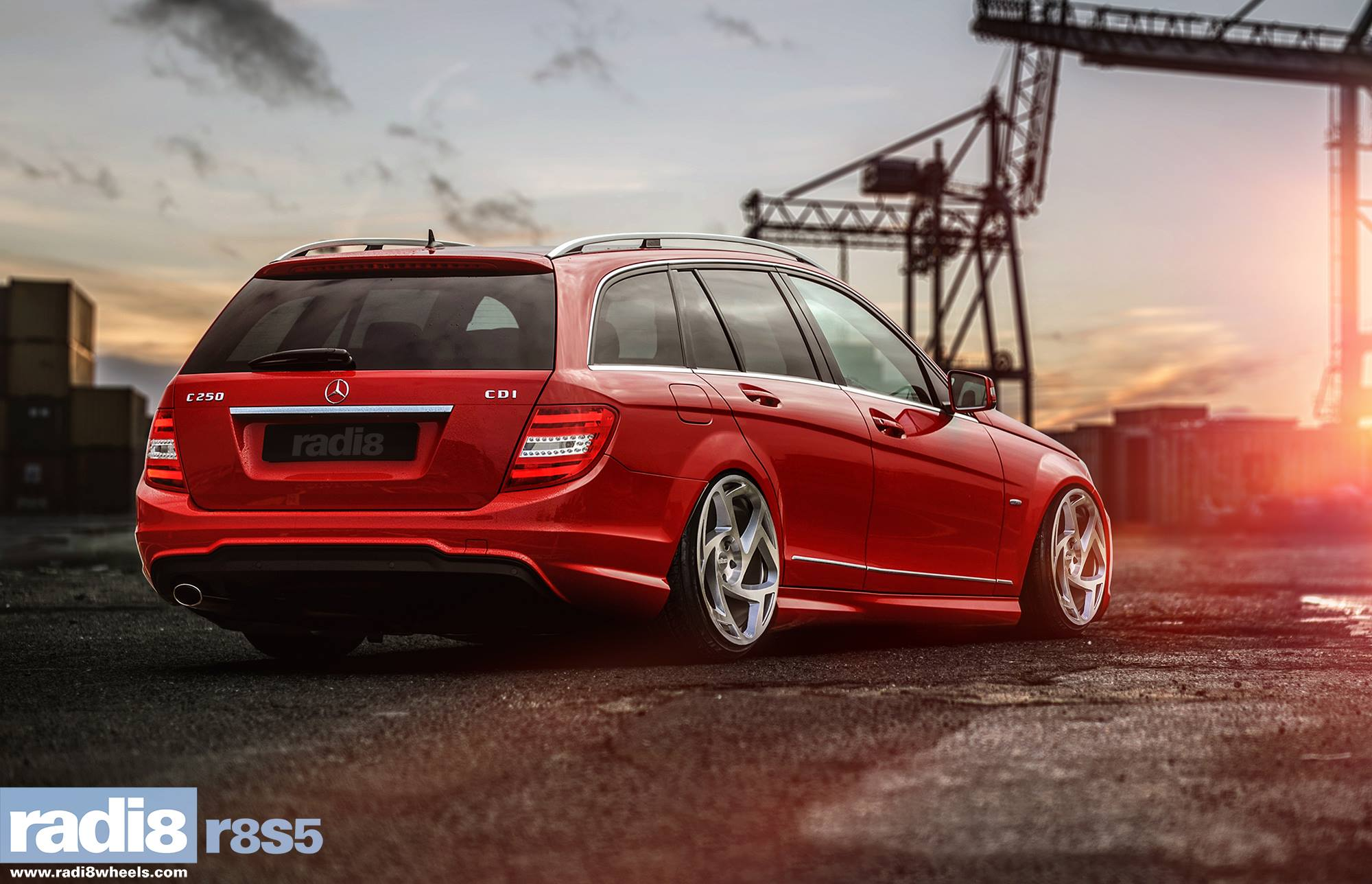 Radi8 R8S5 wheels - Mercedes-Benz C250