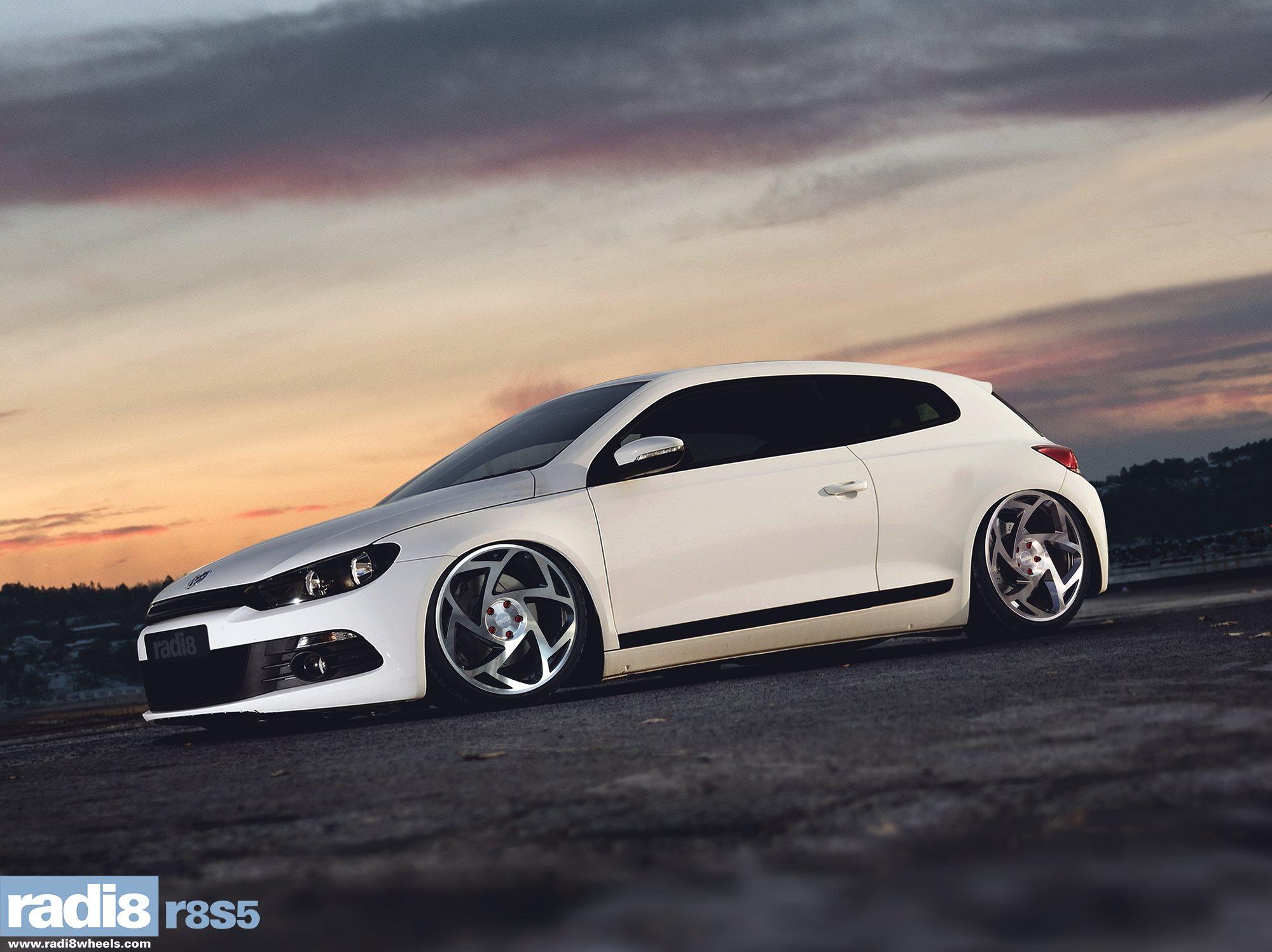 Radi8 R8S5 Wheels - Volkswagen Scirocco
