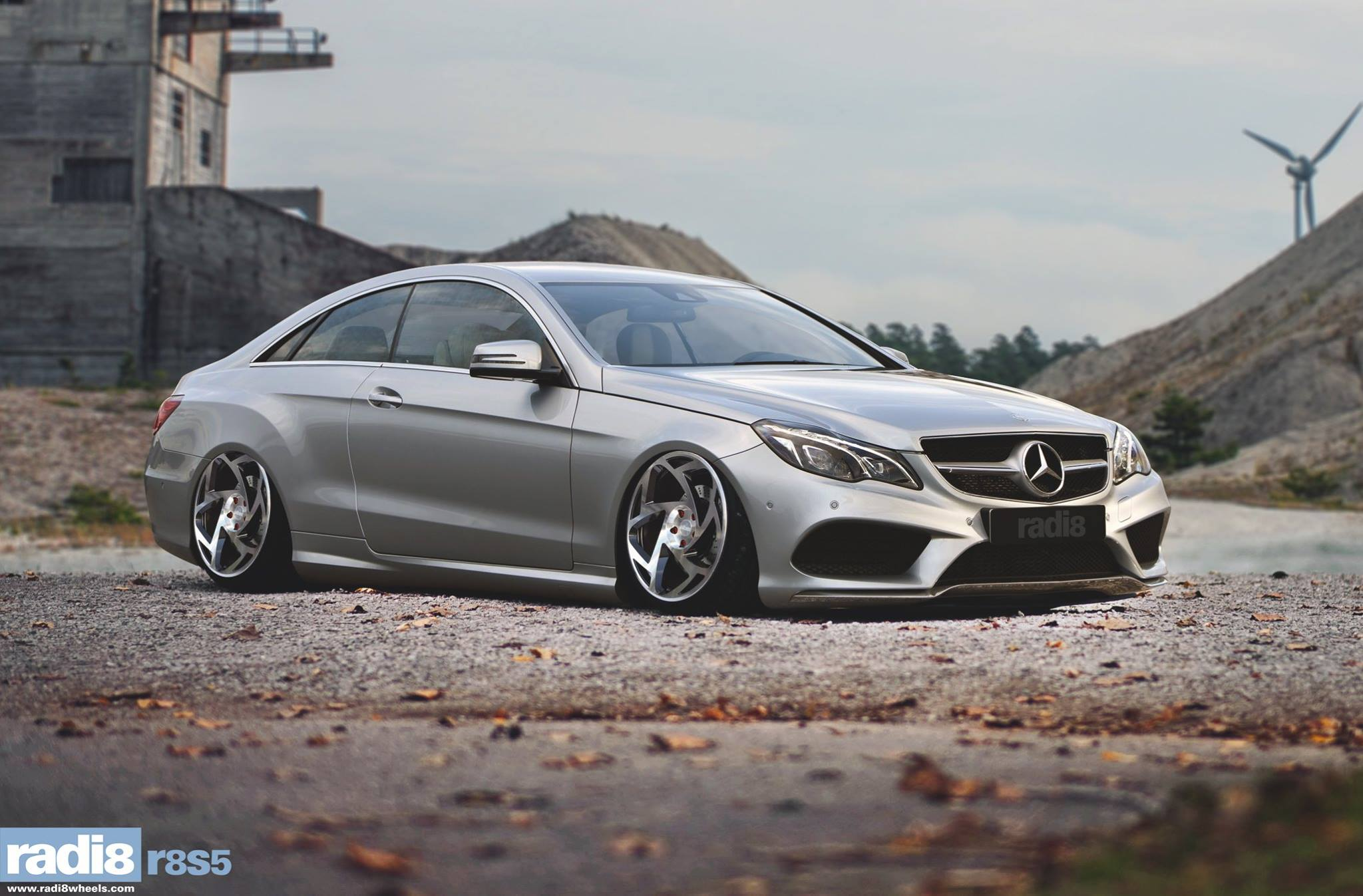 Radi8 R8S5 - Mercedes E220 AMG sports package