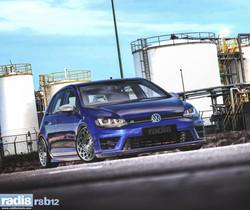 Radi8 R8B12 - Volkswagen Golf R - blue