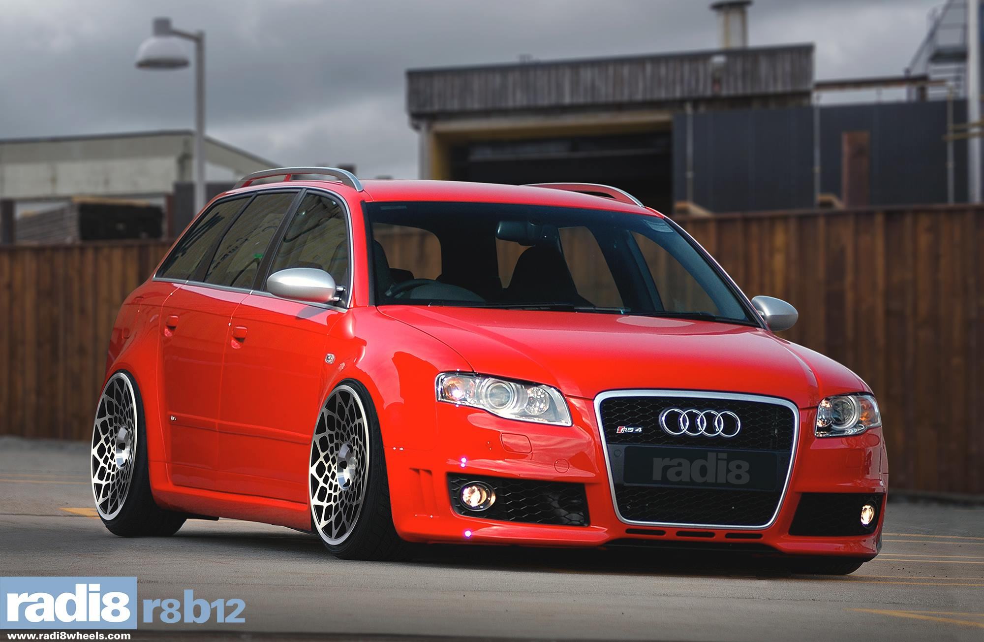 Radi8 R8B12 Wheels - Audi RS 4