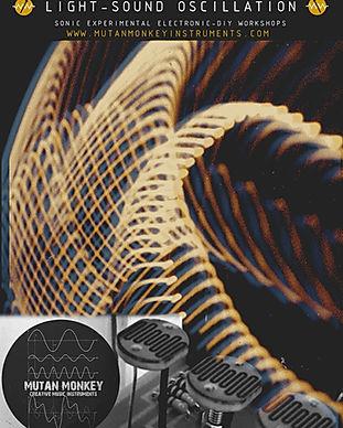 Poster light sound Oscillation 2 2018.jp