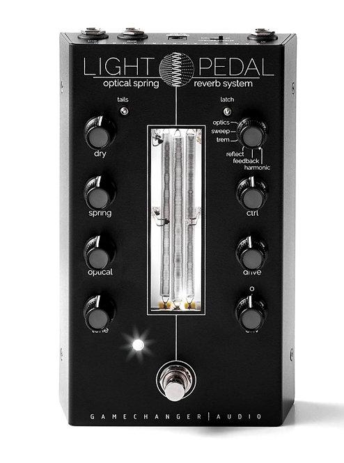 LIGHT PEDAL -OPTICAL SPRING REVERB