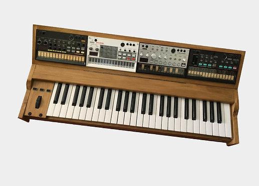 Erinaq wood controller Korg Volca -MIDI