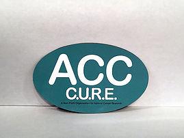 ACC CURE Car Magnet
