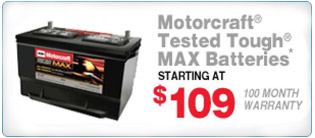 Recevie a new battery for only $109