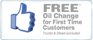 Receive a free oil change