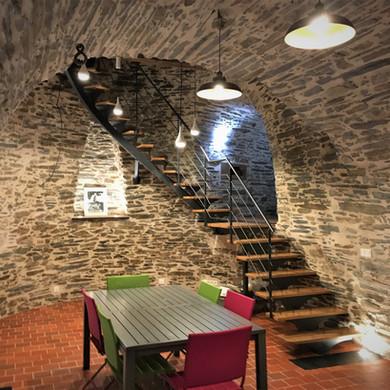 escalier du moulin