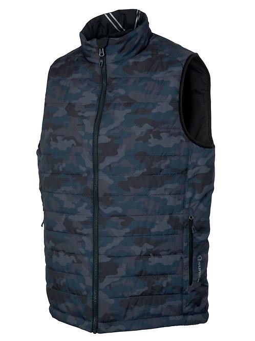 Sunice - Men Michael Reversible Vest - Charcoal Camo/Black