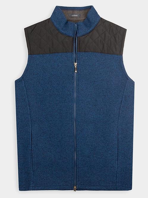 Turtleson Full Zip Vest, Navy